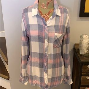 Rails flannel shirt EUC